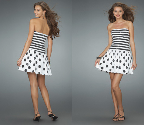 مدل لباس کوتاه برای مهمانی