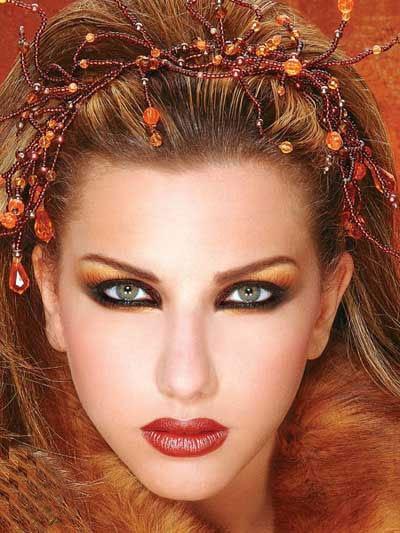 آرایش خلیجی،آرایش عربی